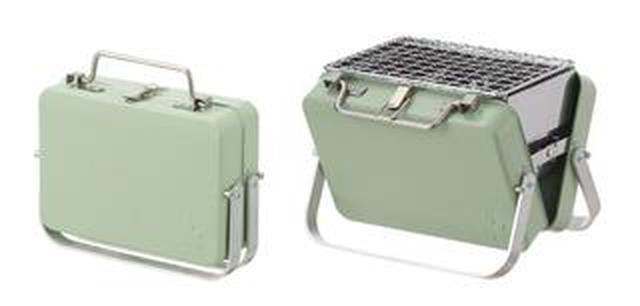 画像2: 【注目リリース】持ち運びをスマートに。LOGOS(ロゴス)のアタッシュケース型グリル「グリルアタッシュ」で、お手軽バーベキュー!