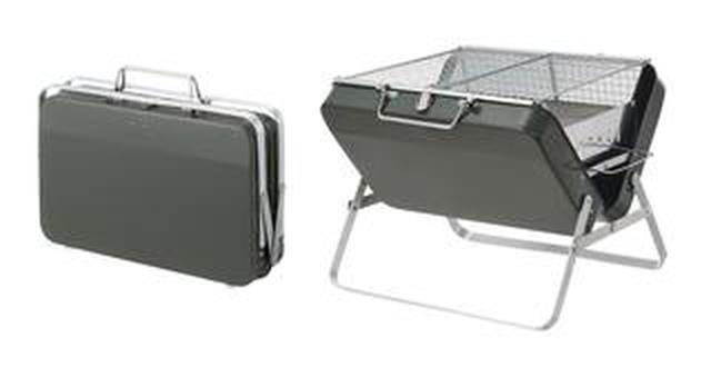 画像1: 【注目リリース】持ち運びをスマートに。LOGOS(ロゴス)のアタッシュケース型グリル「グリルアタッシュ」で、お手軽バーベキュー!