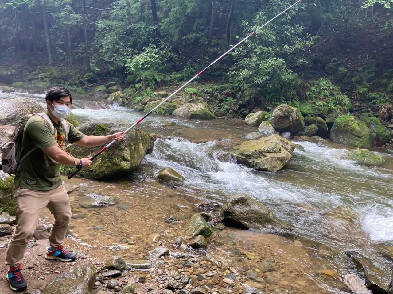 画像: 【体験レポート】初心者が渓流釣り(川釣り)に挑戦してみた!基本的なルールから注意点までわかりやすく解説 - ハピキャン(HAPPY CAMPER)