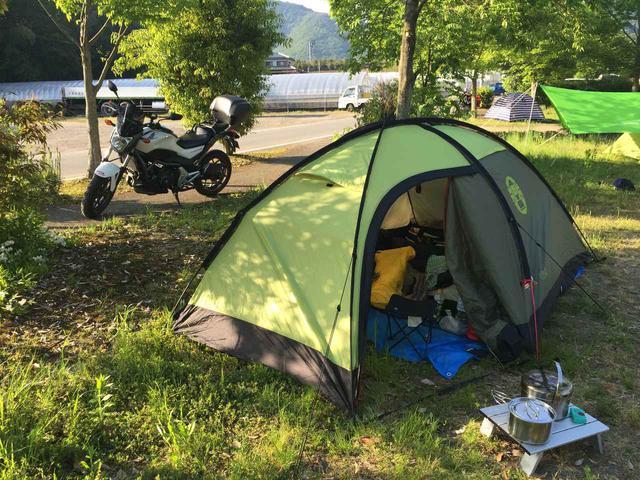 画像: 【バイク好き必見】ソロキャンプ向けテントおすすめ3選 組み立てが簡単! - ハピキャン(HAPPY CAMPER)
