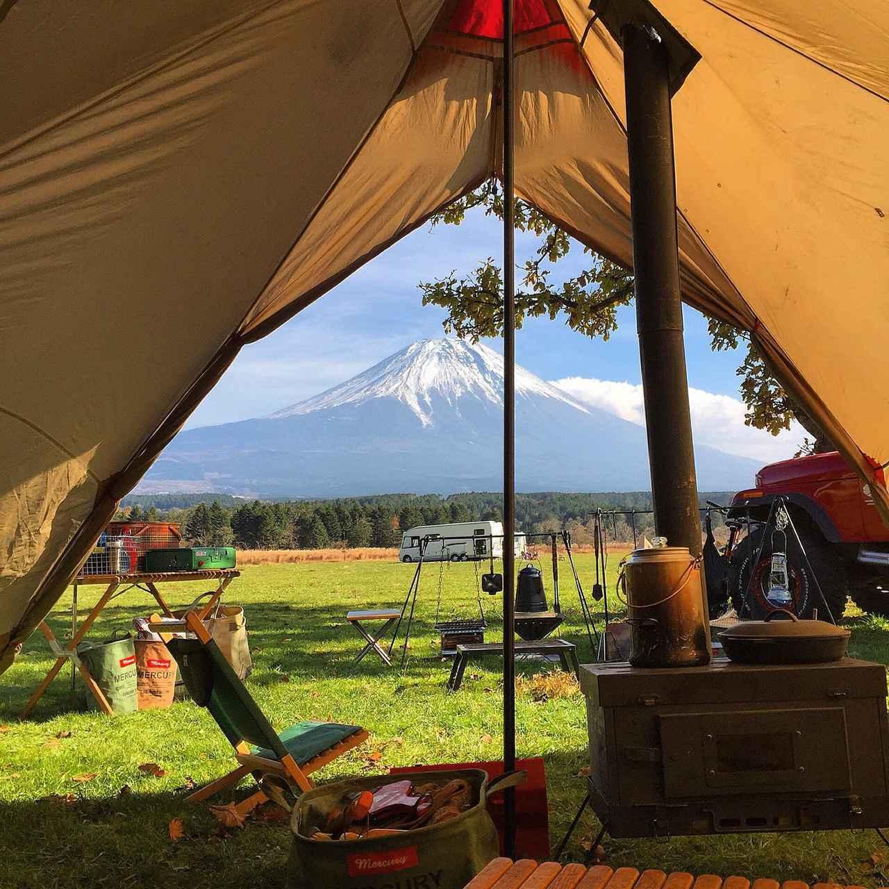 画像: ファミリーキャンプ用のテントを選ぶポイント:使用人数&設営のしやすさをチェック