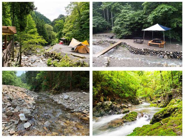 画像: 【まとめ】全国・川遊びできるキャンプ場21選! 川釣りや温泉が楽しめるところも - ハピキャン(HAPPY CAMPER)