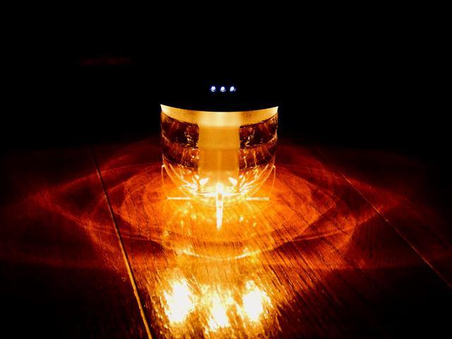 画像: ライター撮影 ビーコンライト2.0点灯時