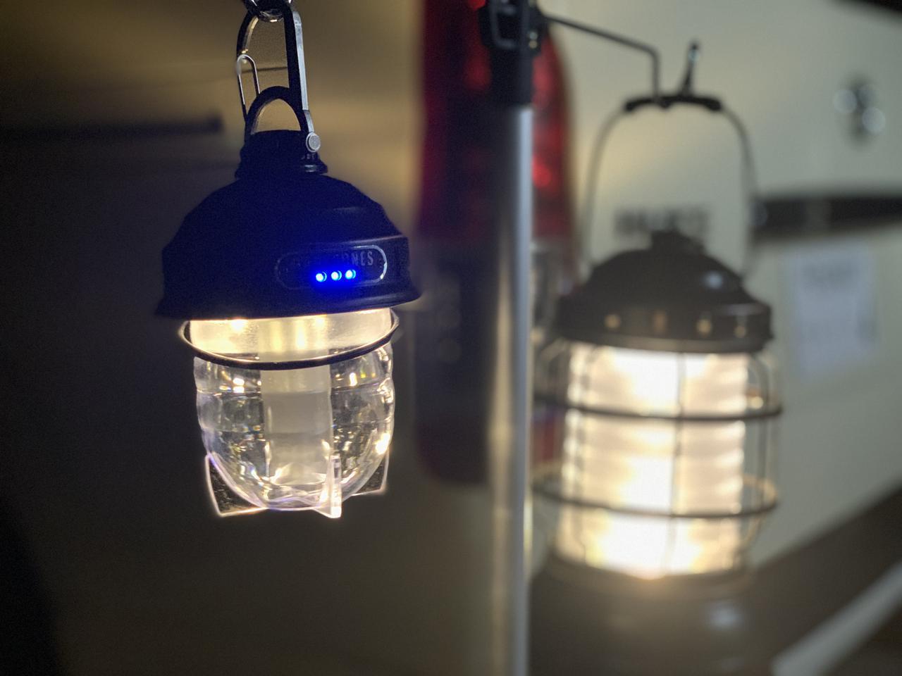 画像: 火を使わないから安心な「LEDランタン」 テント内でも使えてキャンプ初心者にもおすすめ!
