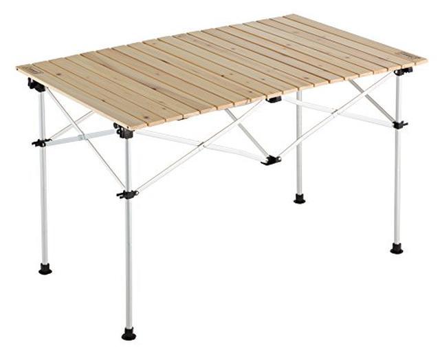画像3: 【まとめ】キャンプテーブルのおすすめ5選! モンベル・コールマン・スノーピークなど