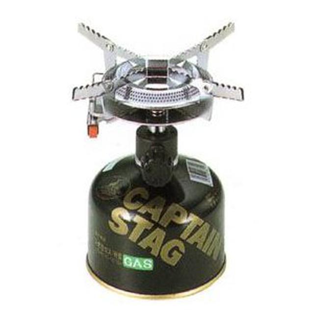 画像1: 【筆者愛用】キャプテンスタッグ「小型ガスバーナーコンロ」はコスパ最高で初心者に最適!
