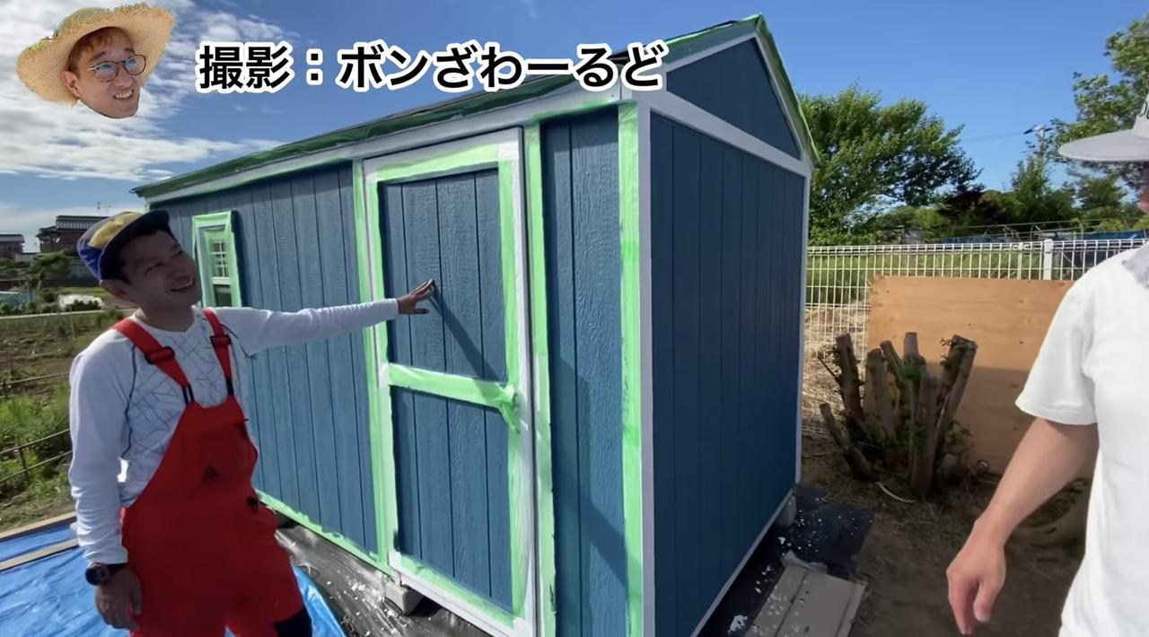 画像4: 【タケト家の秘密基地作り#22】より