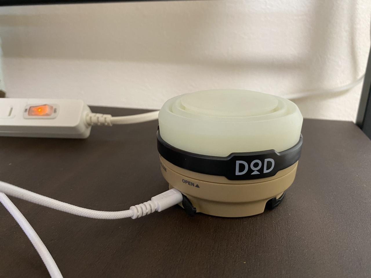 画像: 筆者撮影 USBケーブルでの充電