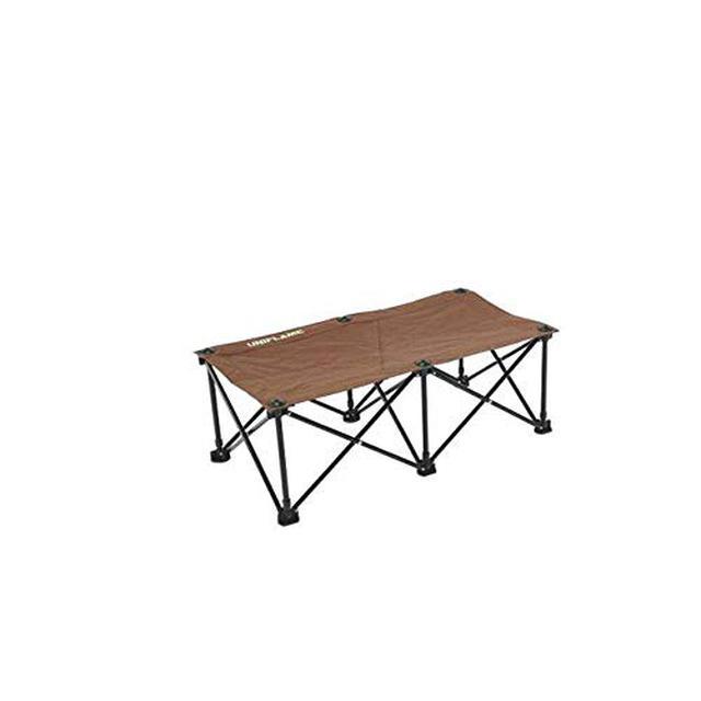 画像2: 【商品レビュー】ユニフレーム リラックスコットは簡単に設営できるゆったりサイズ!本物のベッドのように快適!