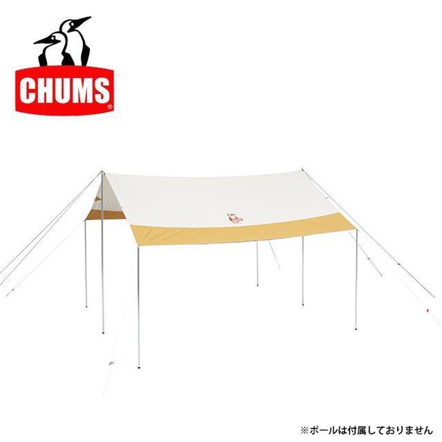 画像3: かわいいだけのテントじゃない! CHUMS(チャムス)2020新作テント「エーフレームテントT/C 4」レビュー