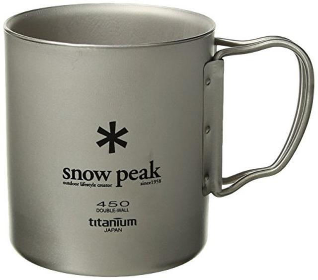 画像2: 【スノーピークマグカップ】チタンシングルマグは軽量・折り畳み可能で持ち運びにGOOD