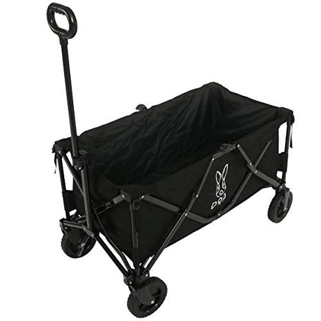 画像1: 【筆者愛用】大型タイヤ&安心強度な、DODのキャリーワゴン キャンプの荷物運びはコレ!