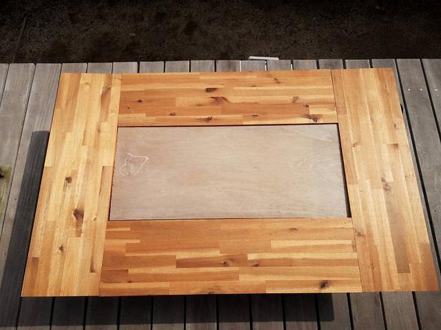 画像: 筆者撮影 パターン2:大きなテーブルタイプ