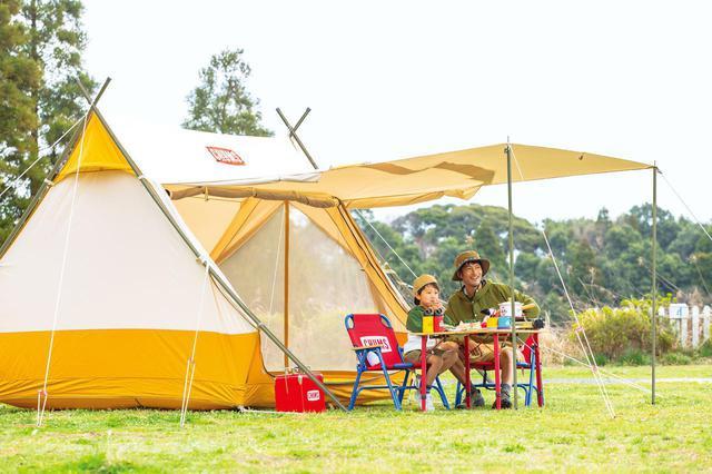 画像: 子どもの思い出に残るのは、やっぱりチャムスの本格テント! - ハピキャン(HAPPY CAMPER)