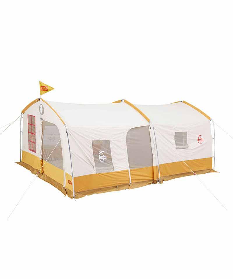 画像1: ファミリーにおすすめ! CHUMS(チャムス)の「コヤテントT/C5」は自然の中に家を建てたみたいな快適テントだった!
