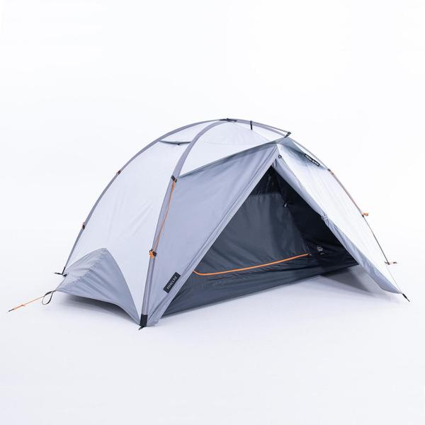 画像: FORCLAZ (フォルクラ) キャンプ・トレッキング・登山用テント 3シーズン用 自立式 ドーム型 TREK 500 FRESH&BLACK 2人用