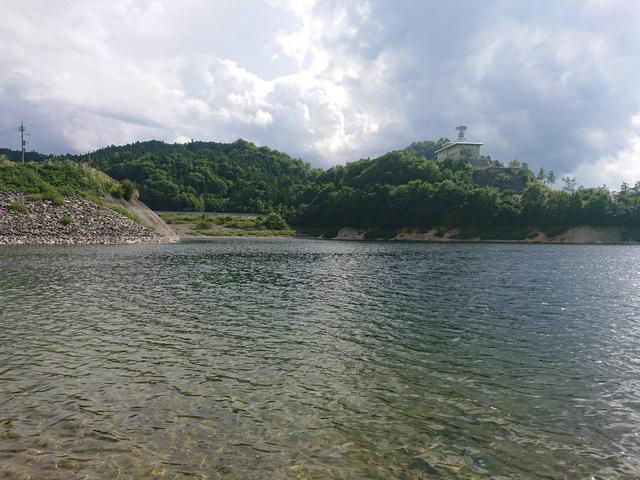 画像1: 筆者撮影:ならまた湖