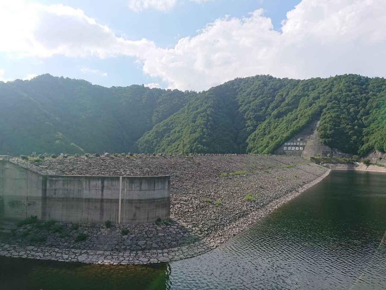 画像: 筆者撮影:奈良俣(ならまた)ダム
