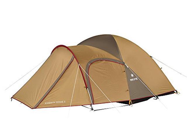 画像1: 【テントレビュー】スノーピーク「アメニティドームS」を紹介! 2人キャンプにおすすめ