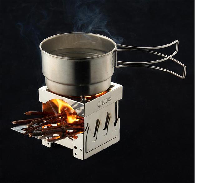 画像: 【注目リリース】LOGOS(ロゴス)の「ミニミニKAMADO(ミニラウンドストーブ対応)」で、たき火や網焼きをより気軽に! - ハピキャン(HAPPY CAMPER)