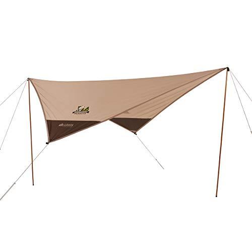 画像6: 【ソロキャンパー必見】一人で組み立てしやすい ソロキャンプ向きおすすめタープ7選