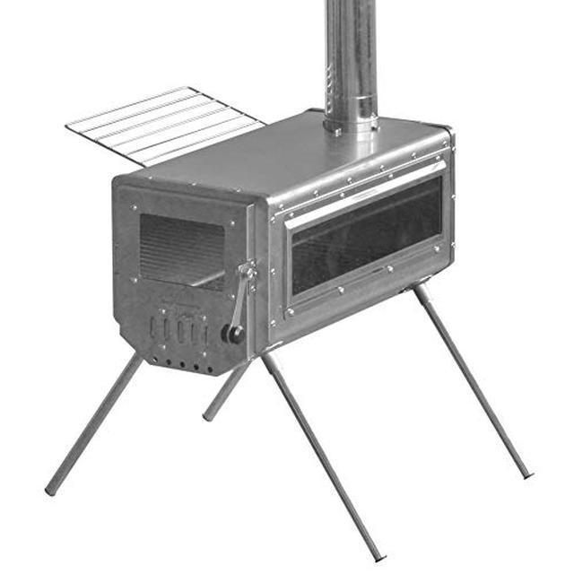 画像2: 【筆者愛用】キャンプに持ち運びしやすい!小型薪ストーブ「ワークタフストーブ380」の魅力を徹底レビュー