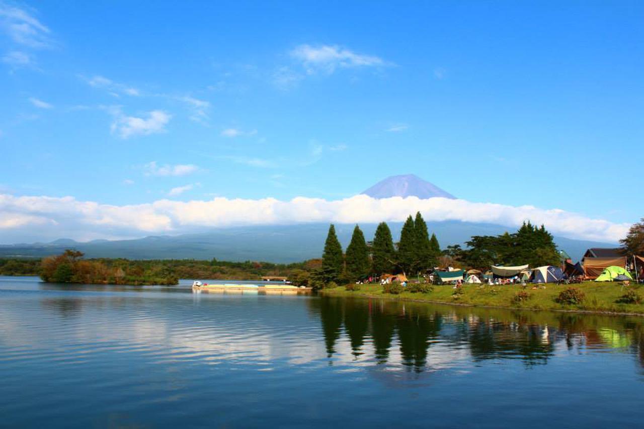 画像: 【おすすめキャンプ場24】「ダブルダイヤモンド富士」が拝めることも!「田貫湖キャンプ場」で富士山と湖を満喫 - ハピキャン(HAPPY CAMPER)