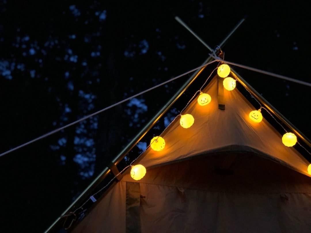 画像: デコレーション実例をご紹介!季節のイベント×キャンプを楽しもう - ハピキャン(HAPPY CAMPER)