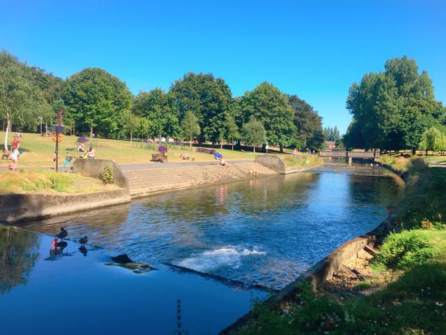 画像: 筆者撮影 ダブリンにある公園