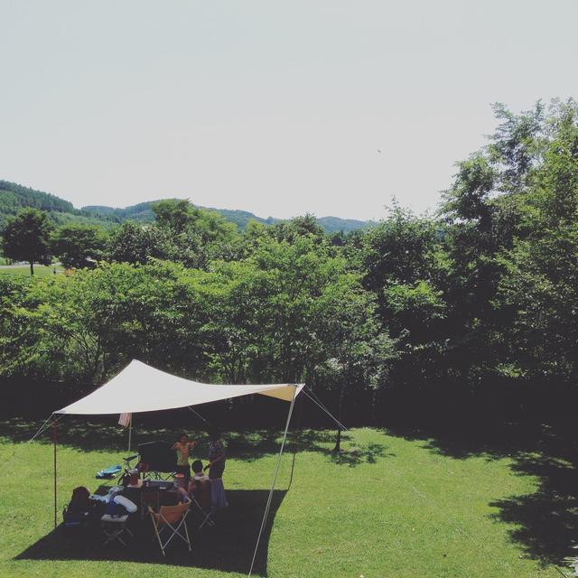 画像1: 【大きいタープ】大人数でキャンプを楽しめる 大きいサイズのおすすめタープをご紹介