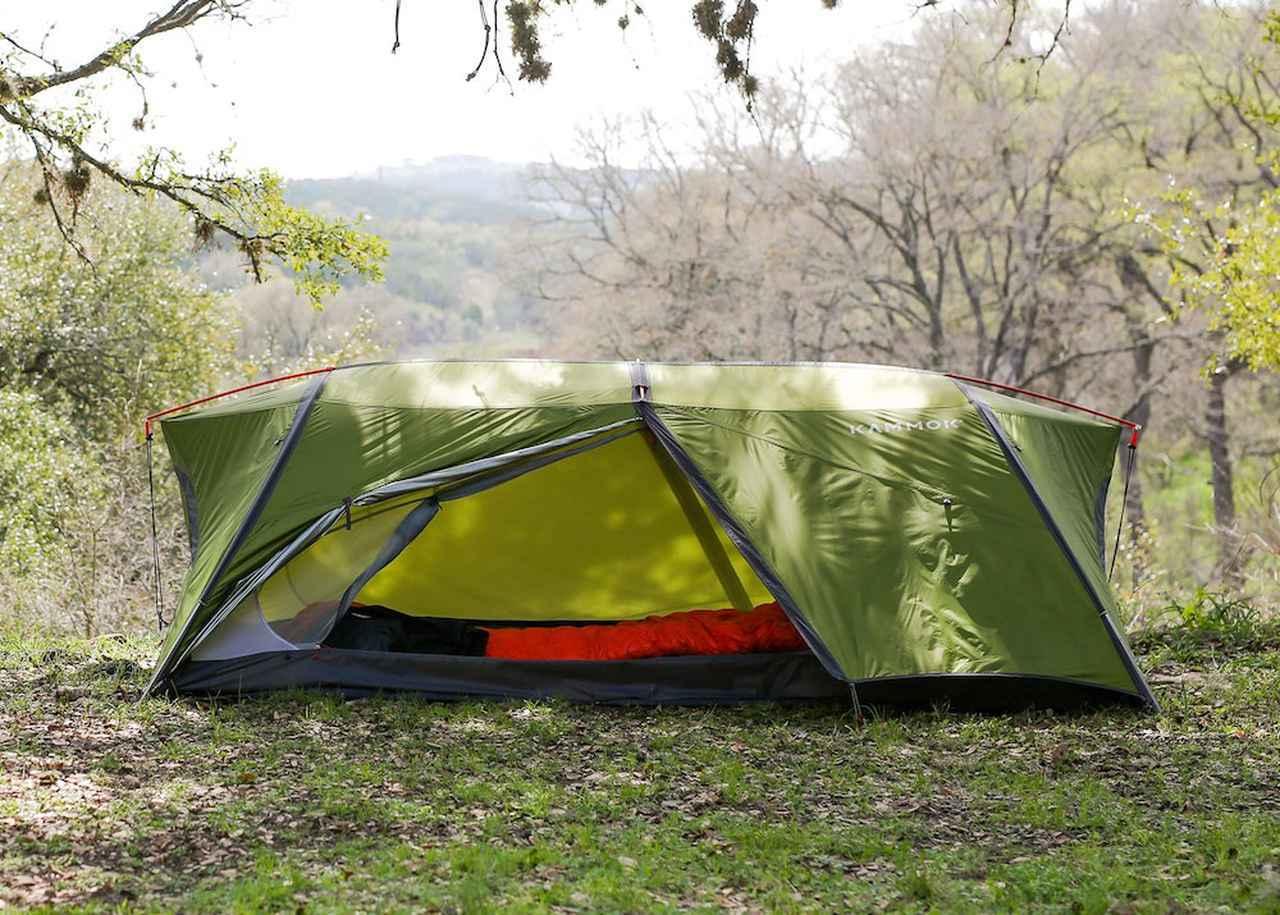 画像1: ハンモックにも自立式テントにもなる全天候型ハンモックテント「サンダ2.0」by Kammok(カモック)