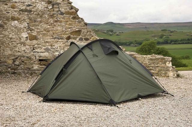 画像2: ワイルドなキャンプシーンにピッタリの最大3名用ドーム型テント『バンカー』by Snugpak(スナグパック)