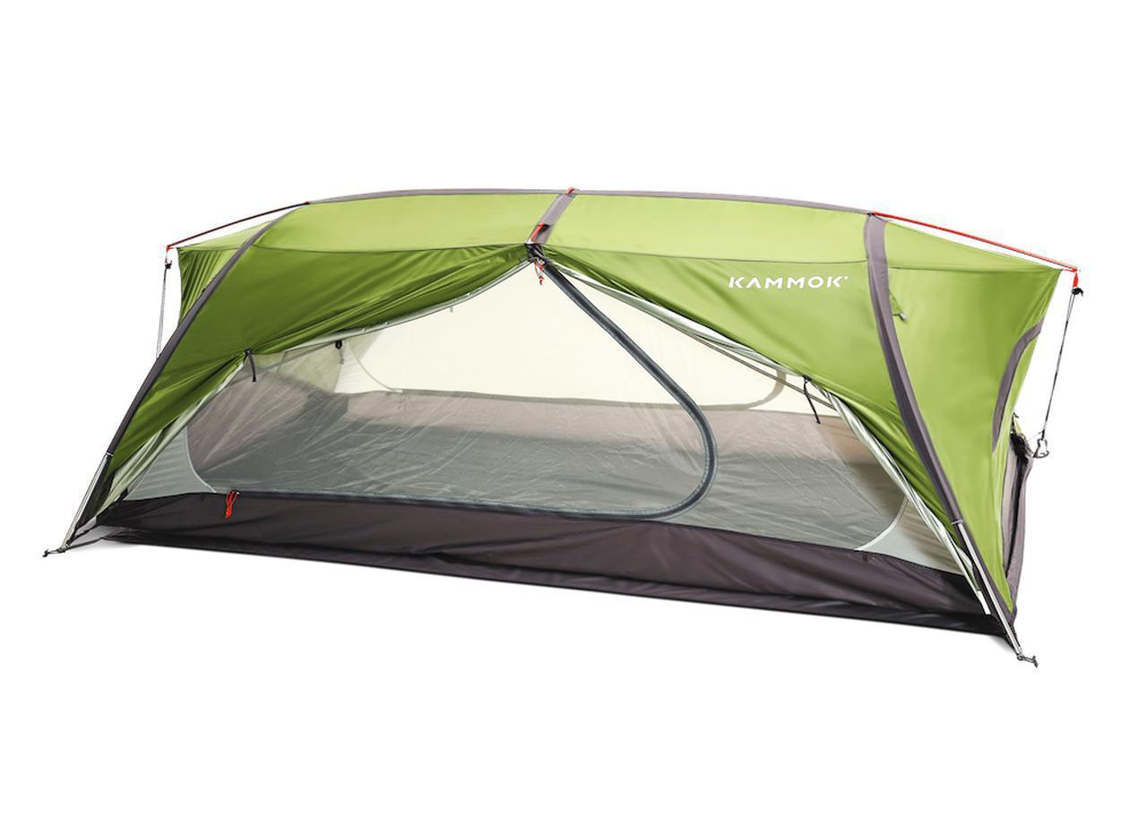 画像3: ハンモックにも自立式テントにもなる全天候型ハンモックテント「サンダ2.0」by Kammok(カモック)