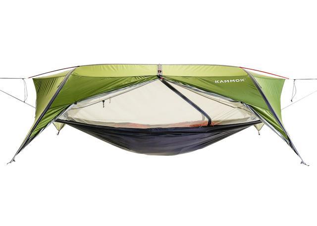 画像2: ハンモックにも自立式テントにもなる全天候型ハンモックテント「サンダ2.0」by Kammok(カモック)