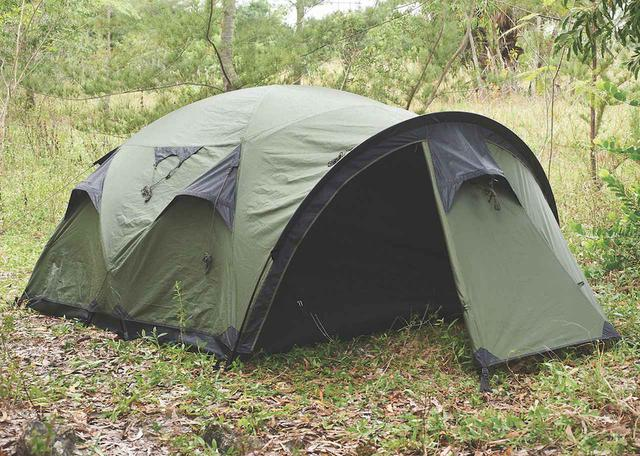 画像1: シリーズ最軽量の最大4人用ドーム型テント『ケイブ』 by Snugpak(スナグパック)