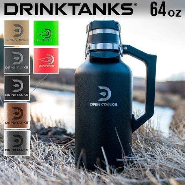 画像4: 冷たいビールを水筒で! 話題のグラウラーボトル4選+α スタンレー・ハイドロフラスクなど