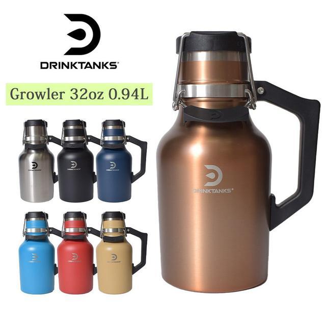 画像3: 冷たいビールを水筒で! 話題のグラウラーボトル4選+α スタンレー・ハイドロフラスクなど