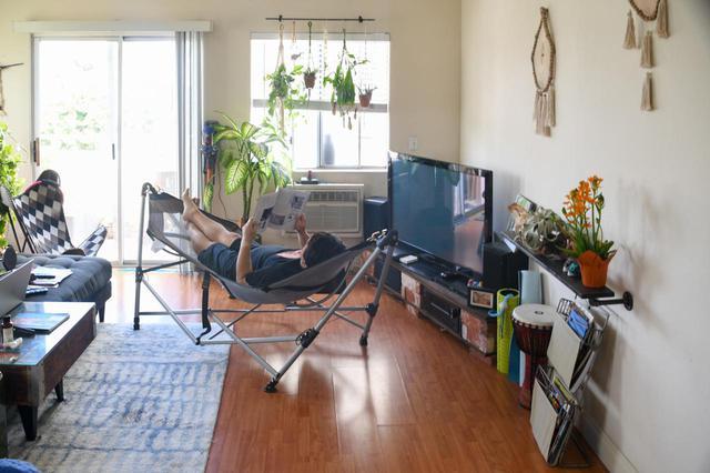 画像: 【おうちでハンモック】室内・ベランダに設置してベッド・チェア代わりとしても活躍! - ハピキャン(HAPPY CAMPER)