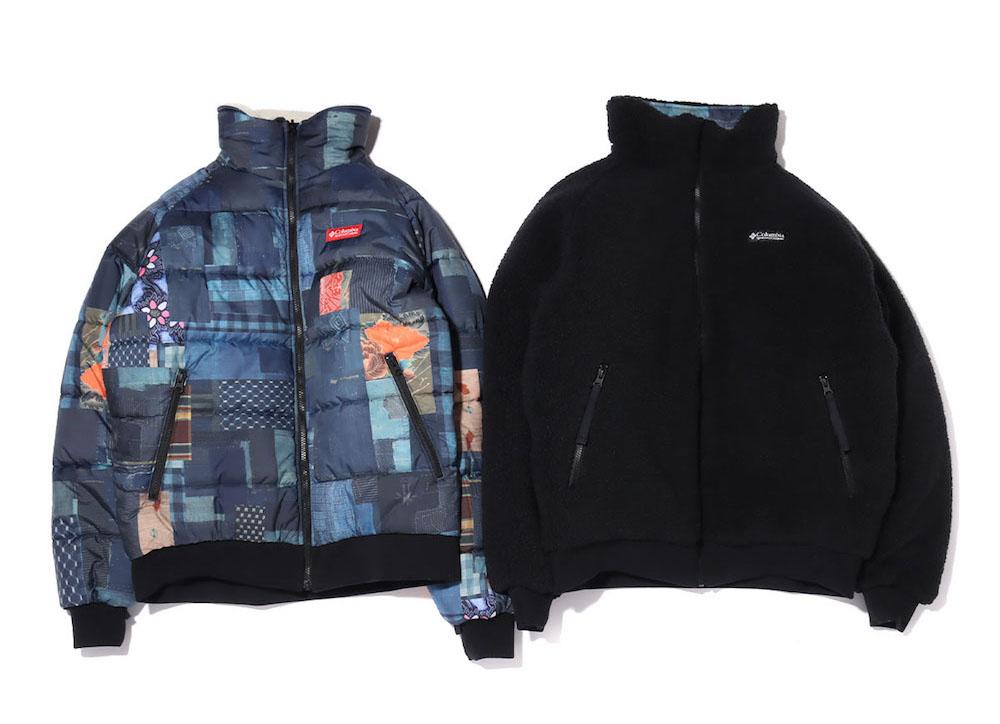 画像1: Columbia x ATMOS LAB Powder Keg(TM) Txt Reversible Fleece Jacket 20FA-S