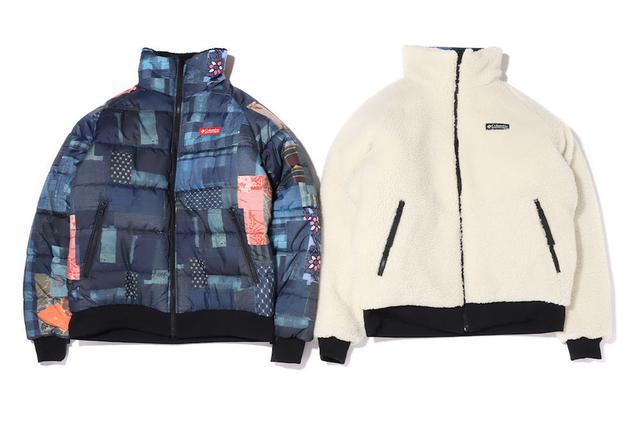 画像2: Columbia x ATMOS LAB Powder Keg(TM) Txt Reversible Fleece Jacket 20FA-S