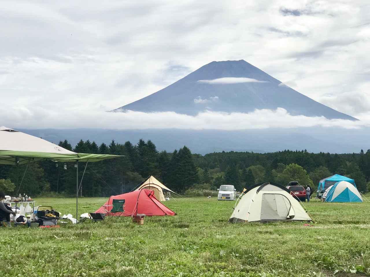 画像: 【キャンプマナー】その2:「場所取り」 区画未定のキャンプ場では近隣のキャンパーに声かけする!