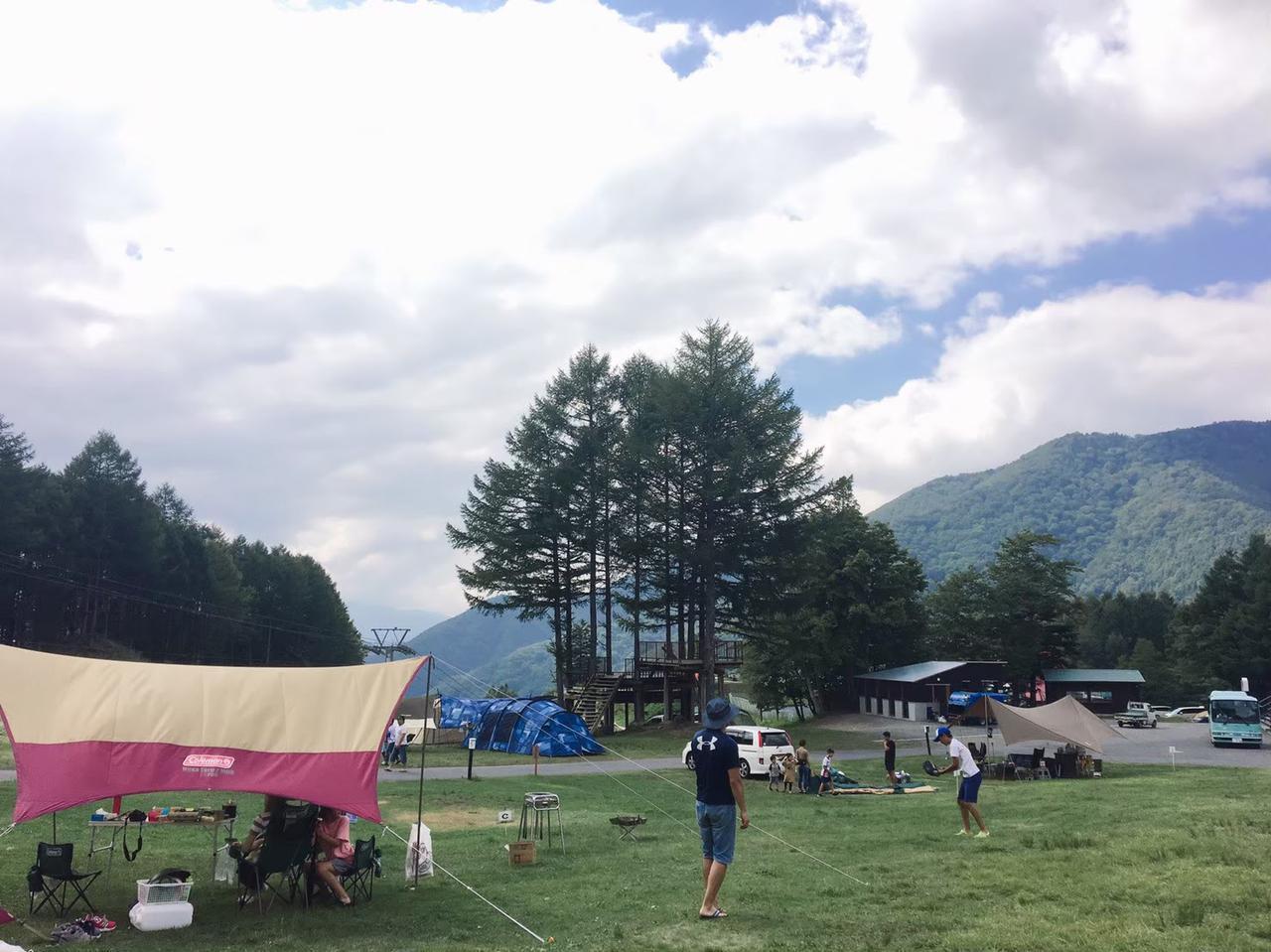 画像: 【おすすめキャンプ場34】夏のスキー場で涼しく高原キャンプ!「丸沼高原オートキャンプ場」 - ハピキャン(HAPPY CAMPER)