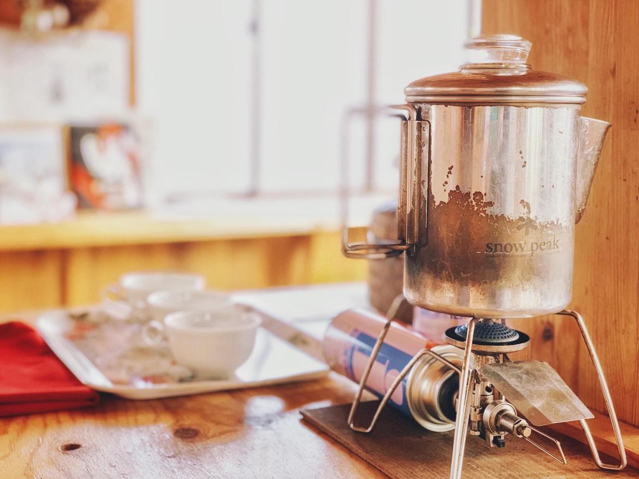 画像: キャンプにおすすめのパーコレーターを紹介! パーコレーターで美味しいコーヒー時間を - ハピキャン(HAPPY CAMPER)