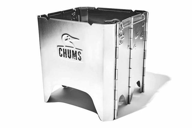 画像2: 【注目リリース】焚き火シーズン目前!CHUMS(チャムス)から待望の焚き火台「Booby Face Folding Fire Pit」が登場