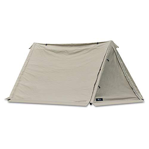 画像1: フィールドア「パップテント320」を徹底レビュー! ポリコットン製で小雨でも使えるおすすめテント