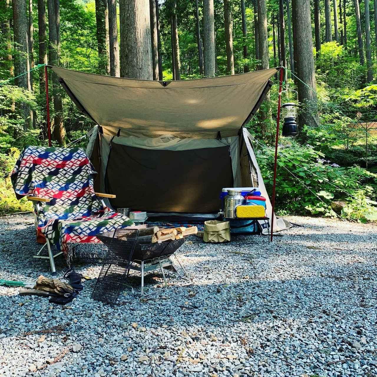 画像: 【ソロキャンプの道具リスト】車で行く場合の持ち物一覧&初心者におすすめな愛用キャンプ道具を紹介! - ハピキャン(HAPPY CAMPER)