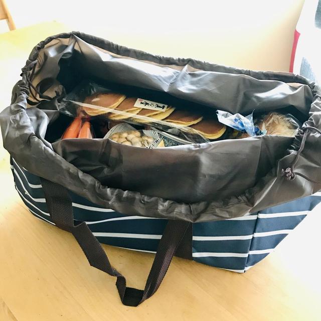 画像: キャンプの炭入れ袋にはレジカゴ型のエコバッグがおすすめ! 100均なら汚れるたび買い替えるのもOK