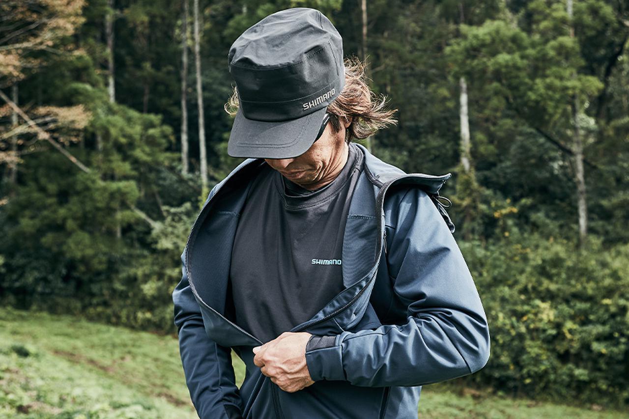画像4: 【釣りウェア】初心者必見! ジャケット下におすすめ釣り用のインナーウェアをご紹介!