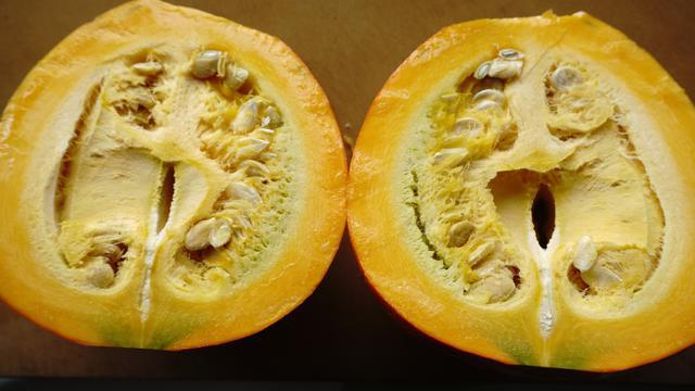 画像2: レンジ無しでも楽々!硬いかぼちゃの下ごしらえは〝皮は所々切り落とす〟〝ヘタの部分を避けて切る〟!