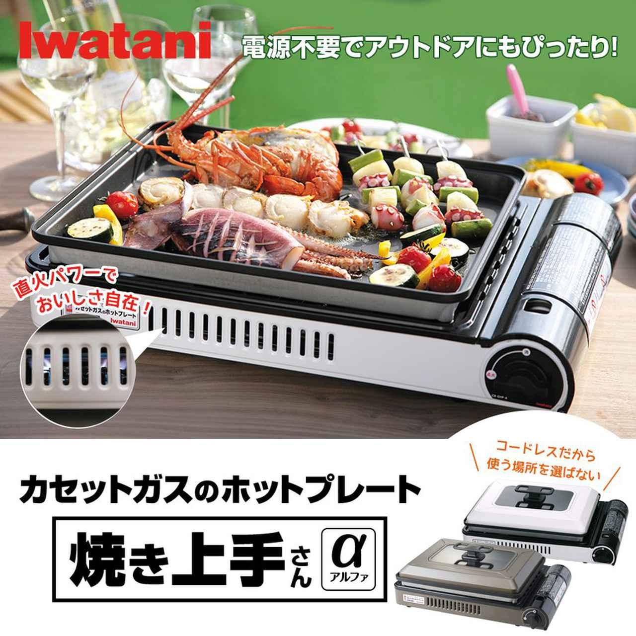 画像1: イワタニのホットプレート『焼き上手さんα』で作るキャンプ飯レシピ4選 オムライスやビビンバなど